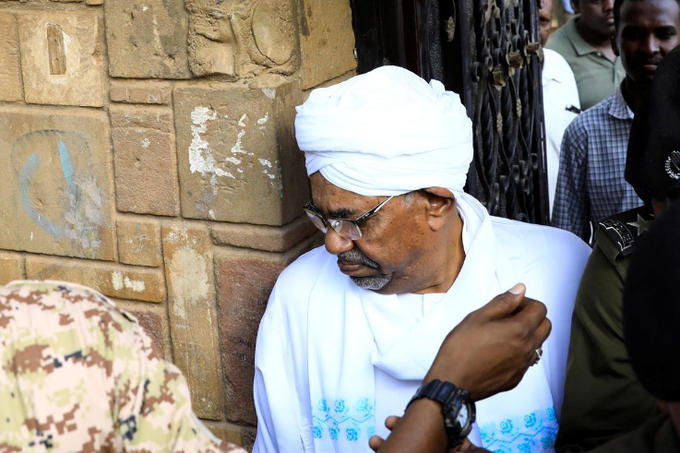 Sudan's former president Omar al-Bashir . photo/Reuters
