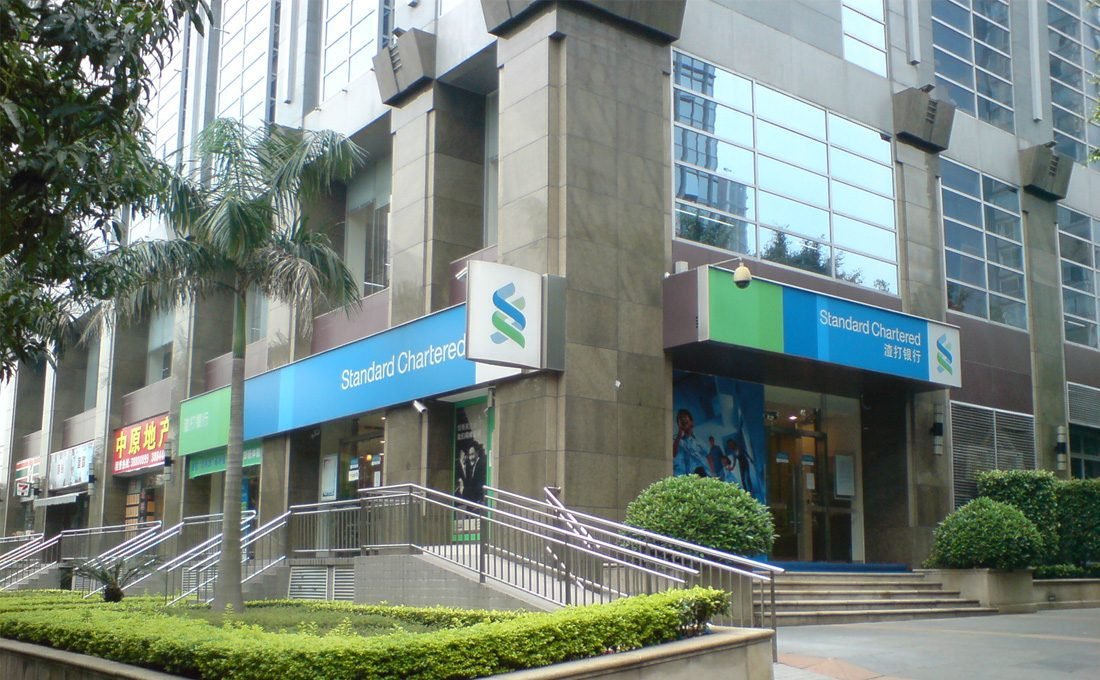 Standard Chartered half-year profit up 37%