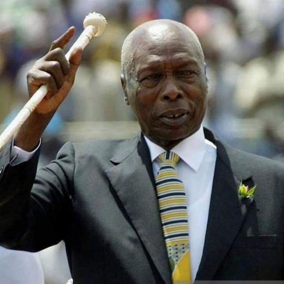 Daniel Toroitich Arap Moi dies aged 95