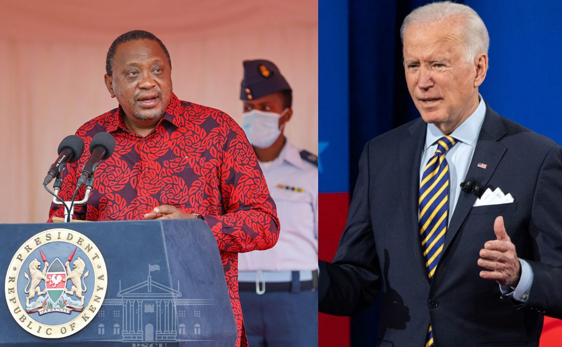 White House confirms Uhuru's meeting with Biden