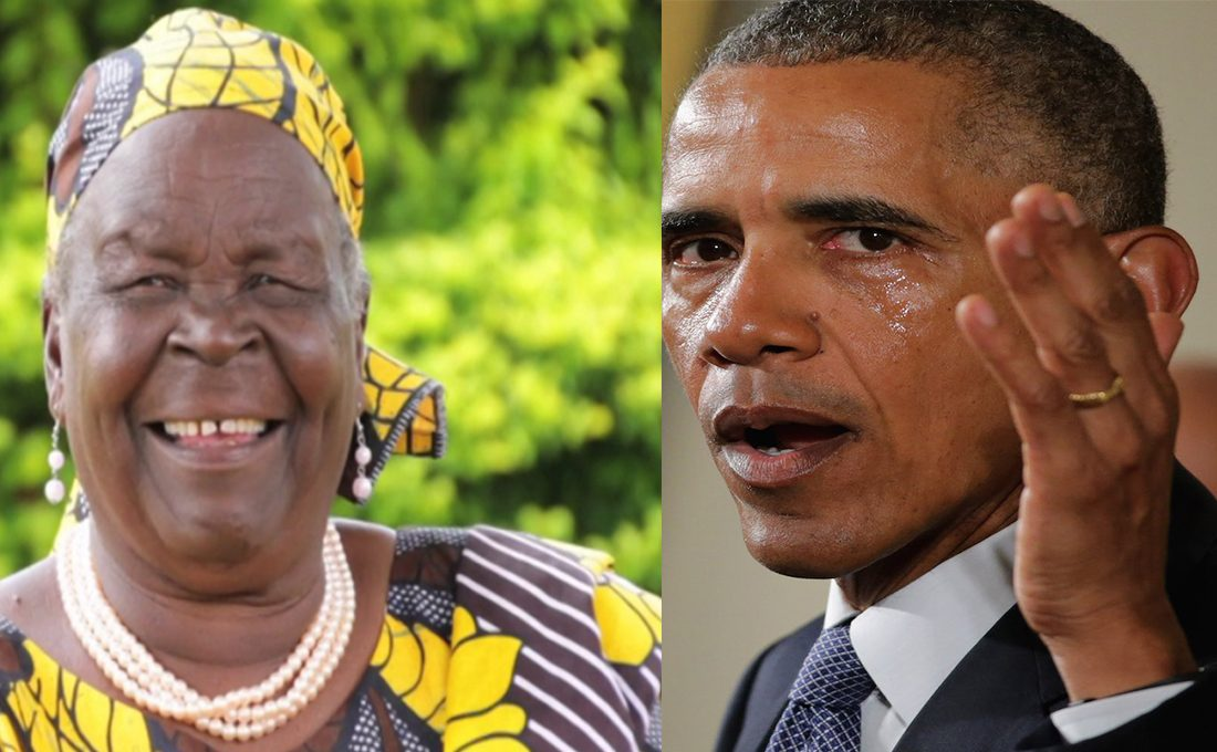 Barack Obama's last words as his grandmother Sarah Obama is laid to rest