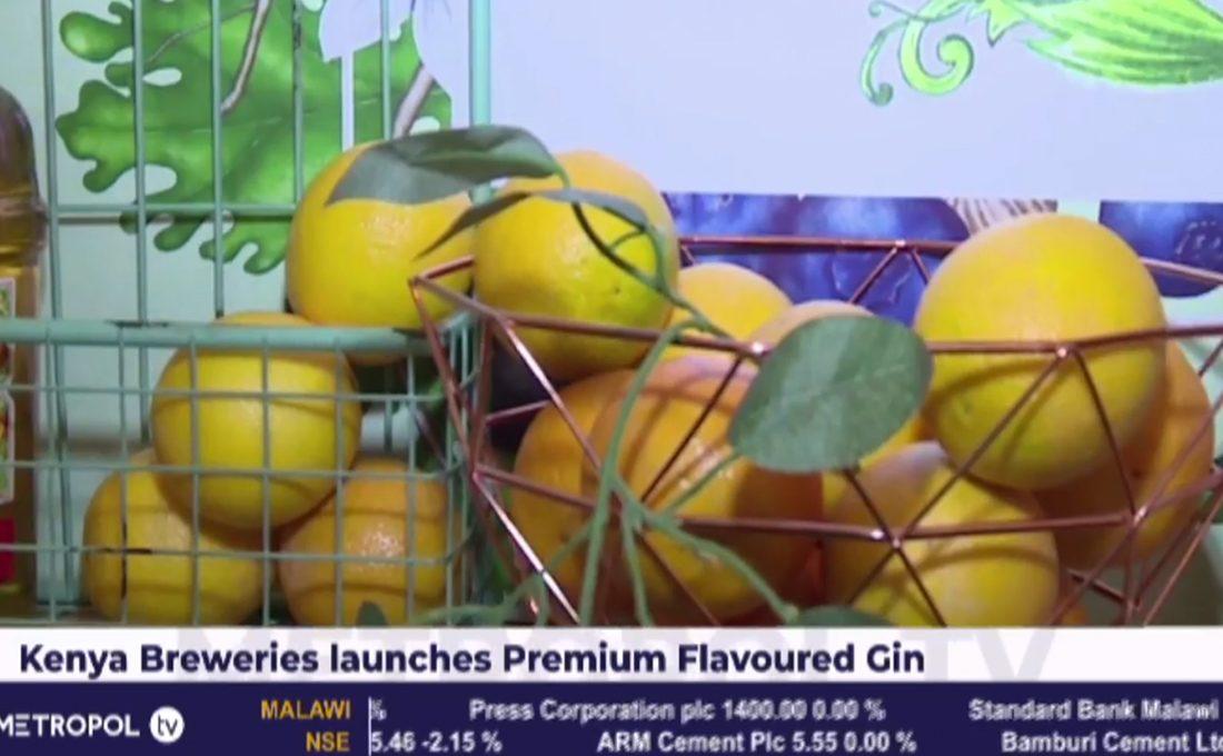 Kenya breweries launches premium flavoured gin