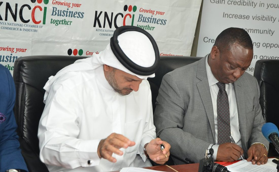 KNCCI opens representative office in UAE to promote trade