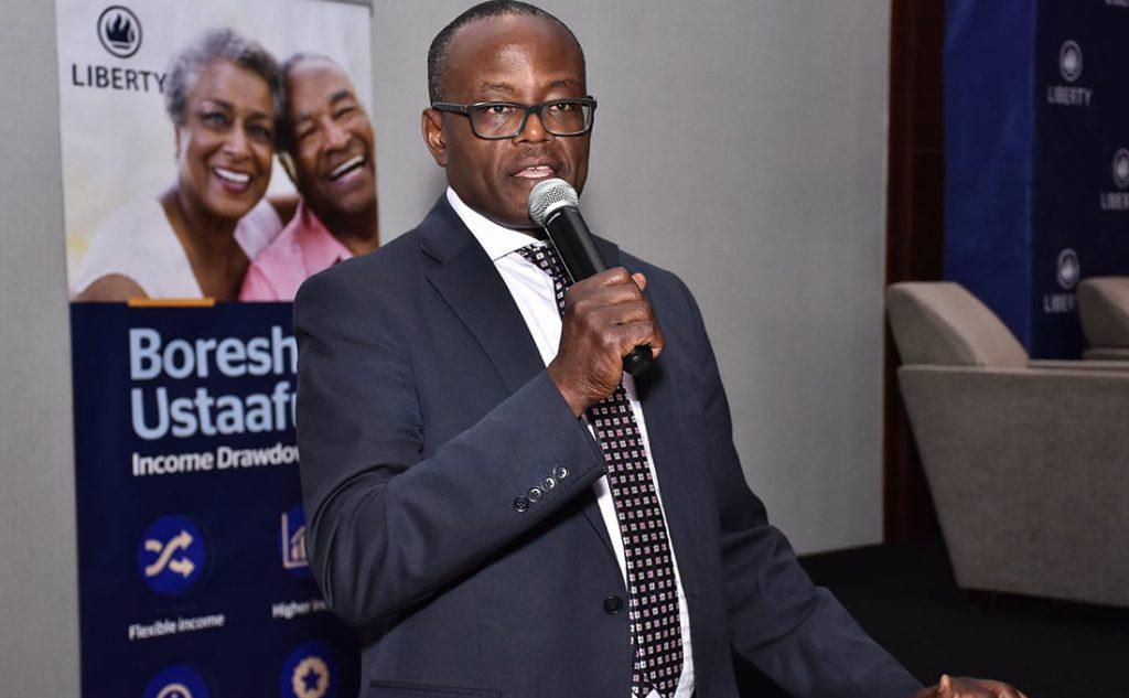 Liberty Life Assurance Managing Director Abel Munda PHOTO   COURTESY