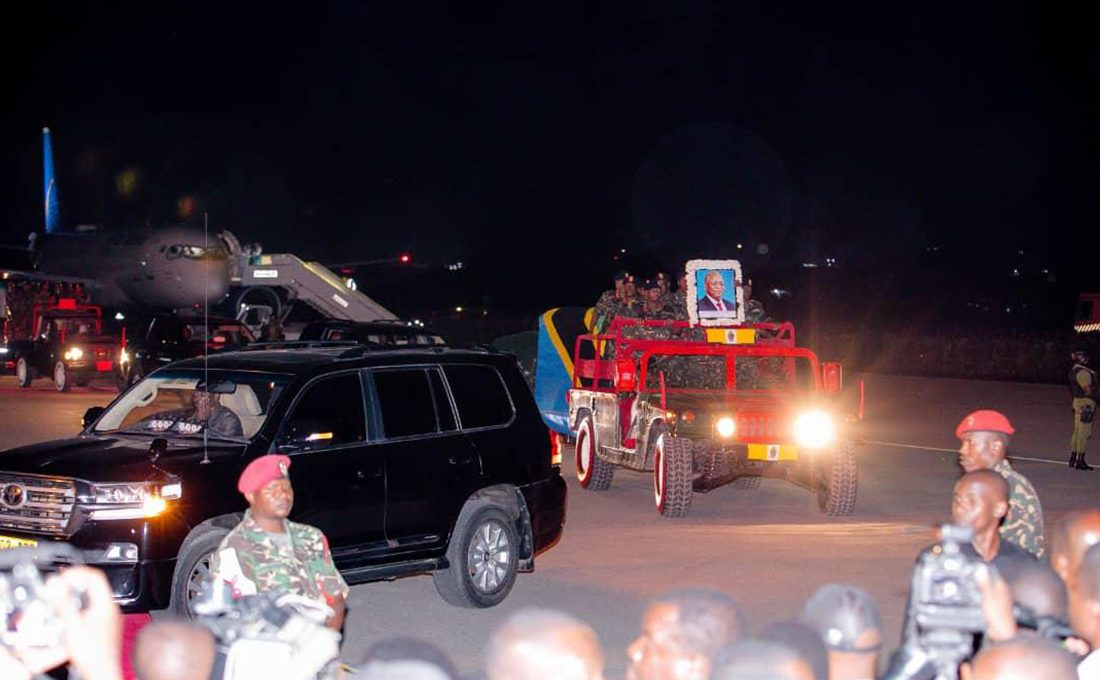 Top African leaders attend late Magufuli's state funeral in Dodoma