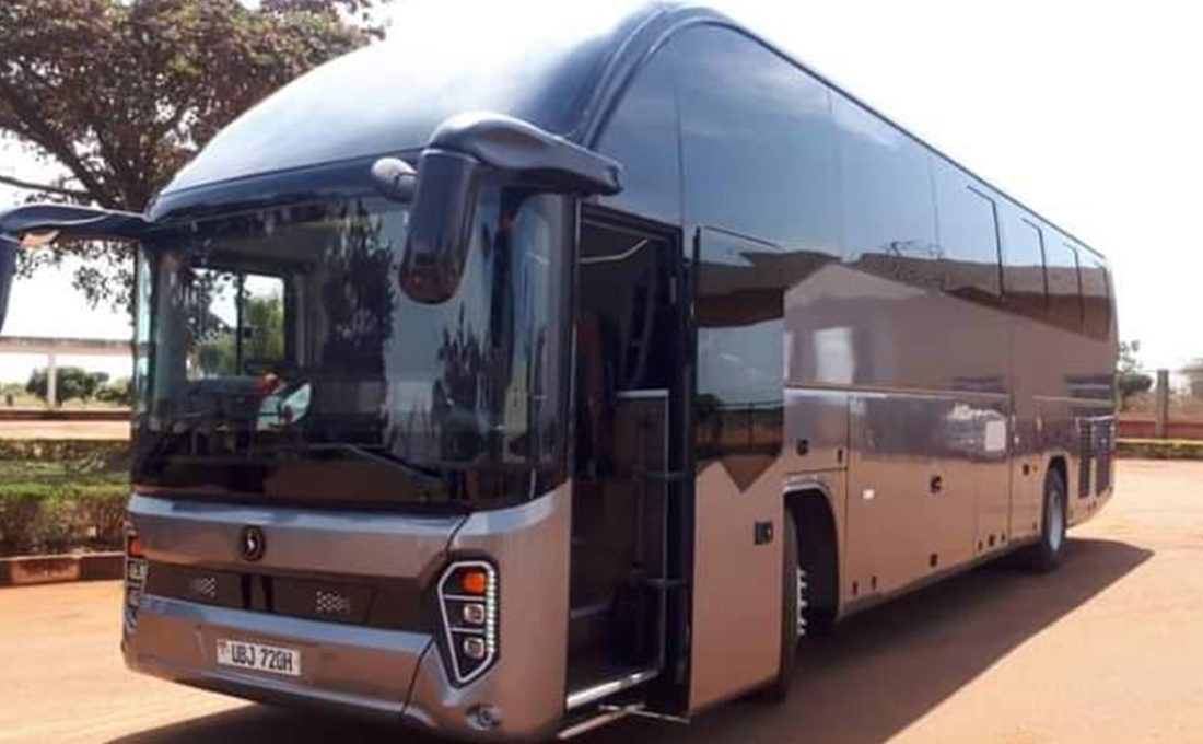 Uganda starts road tests for locally-assembled diesel-powered bus