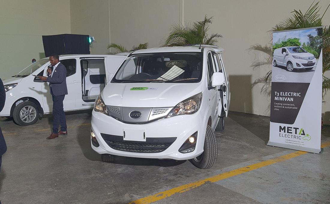 Meta Electric unveils first electric vans in Kenya