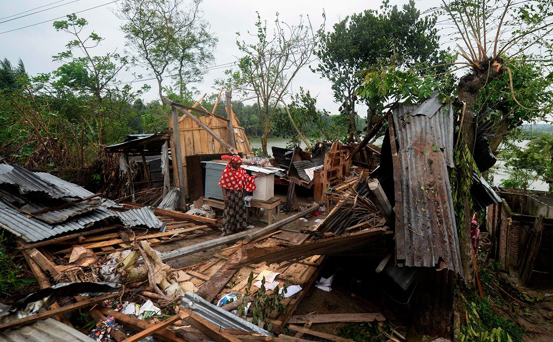 Double blow: Cyclone hits India killing 21 amid COVID-19 crisis