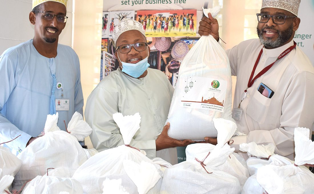 DIB Bank Kenya donates food to vulnerable families during the holy month of Ramadhan