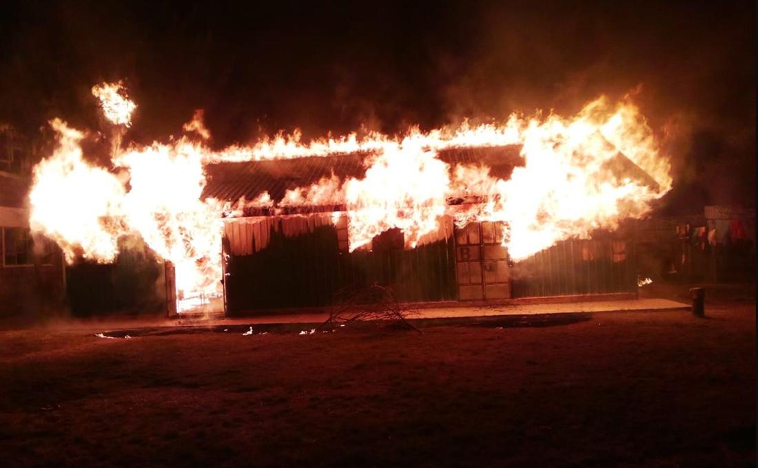 Fire razes dormitory at Al Maktoum Girls school in Kajiado
