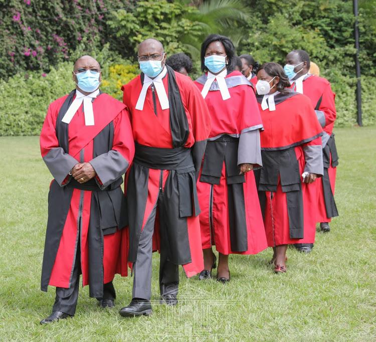CJ Koome responds to Uhuru for rejecting six judges