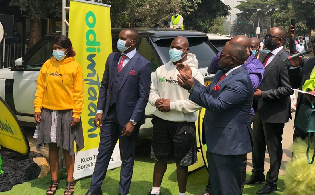 Ugali Man receives Ksh.5 million and brand new car from odibets