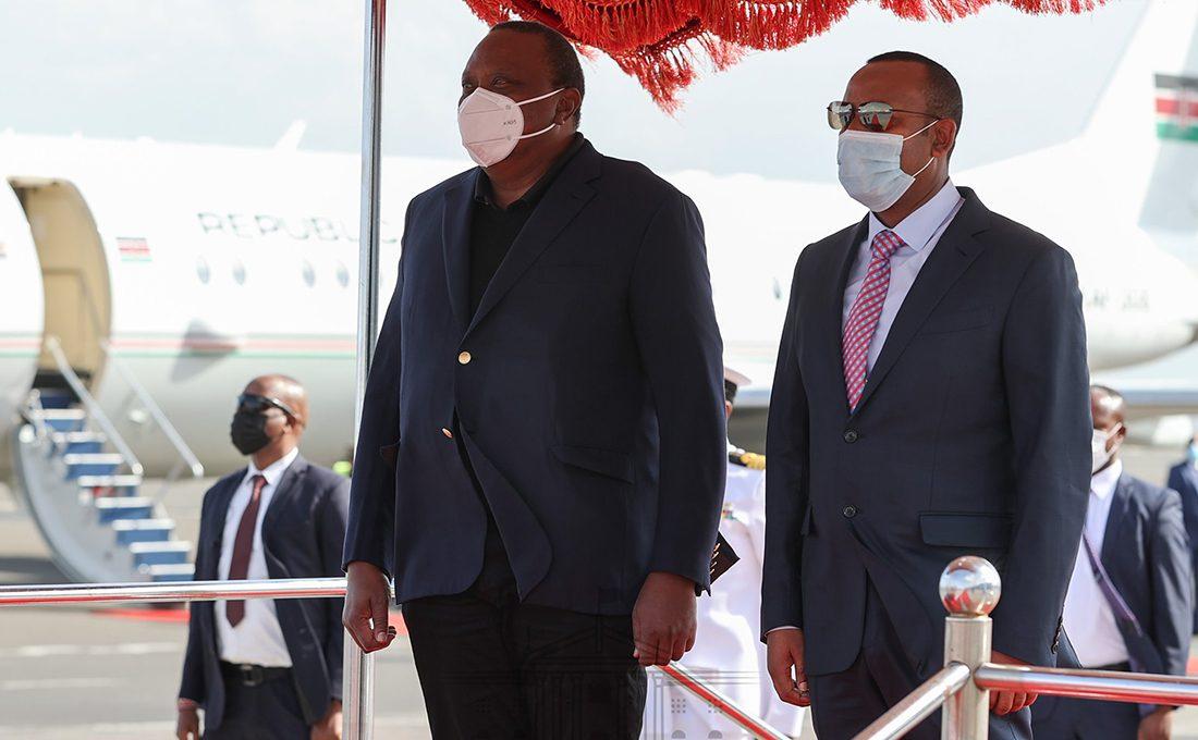 Safaricom to help transform Ethiopia, says Uhuru