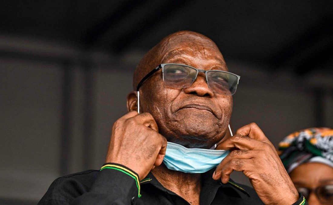 Zuma released from jail to attend funeral of his brother