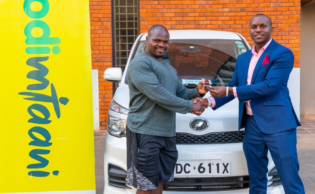 Newest millionaire in town: Ugali man Receives car, fully equipped gym from Odibets