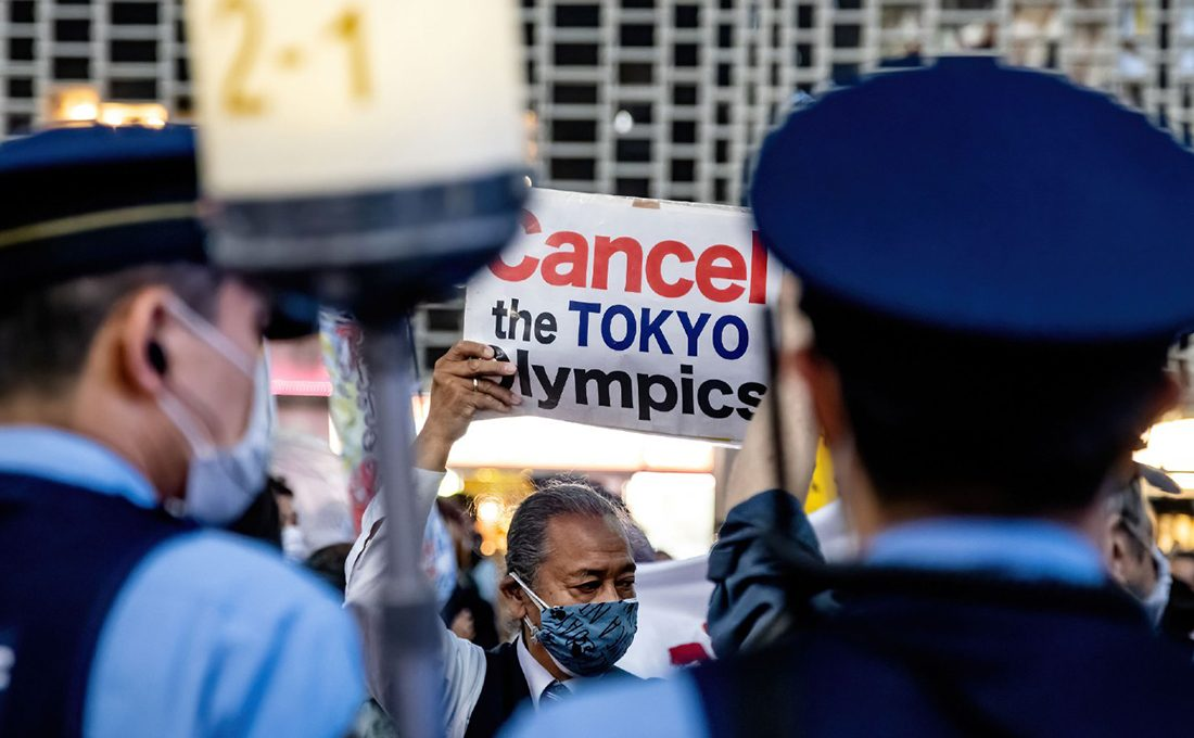 Olympics events in Tokyo to have no fans