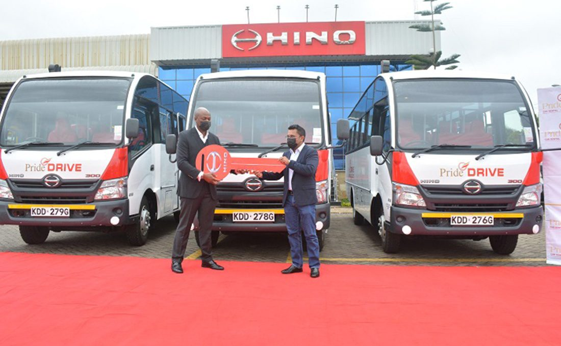 Pride Drive partners with Toyota Kenya for corporate transport services