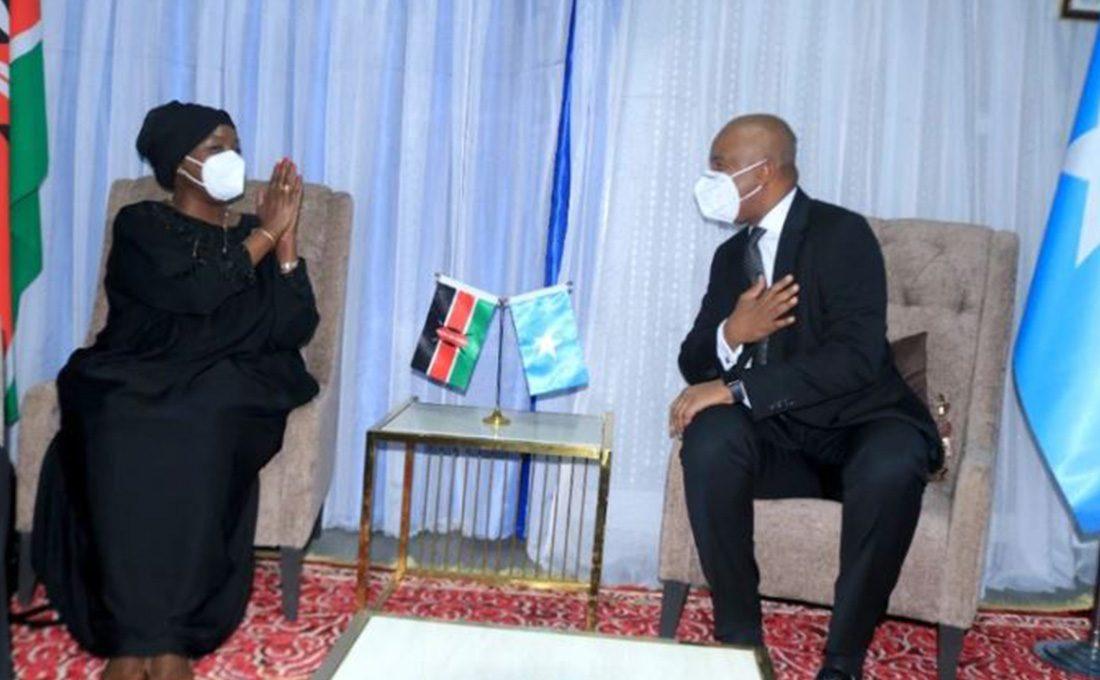 Kenya, Somalia agree to mend strained relations
