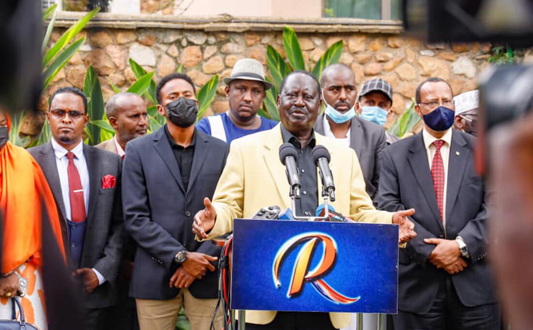 North Eastern leaders demand apology from Odinga over revenue allocation remark