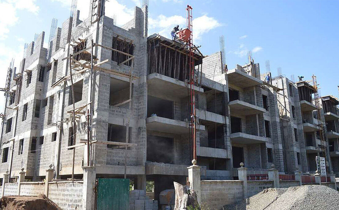 50% of construction work going on in Nairobi is illegal, says NMS