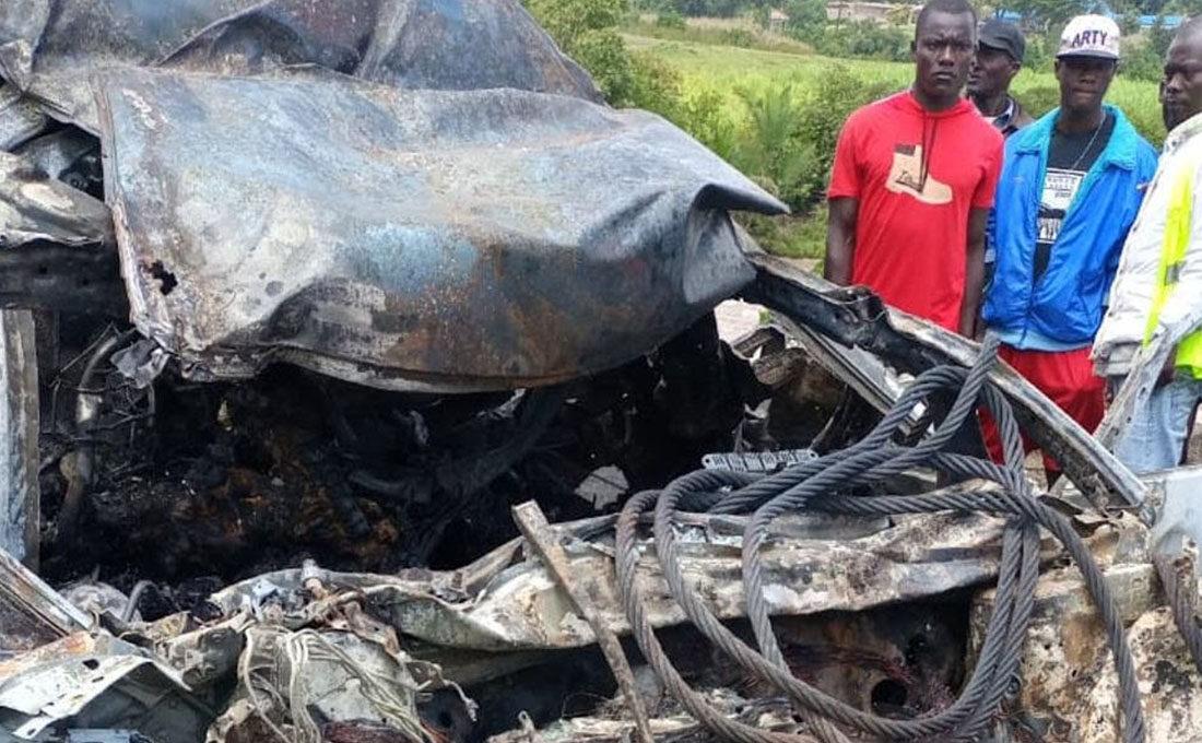 Webuye accident leaves five dead