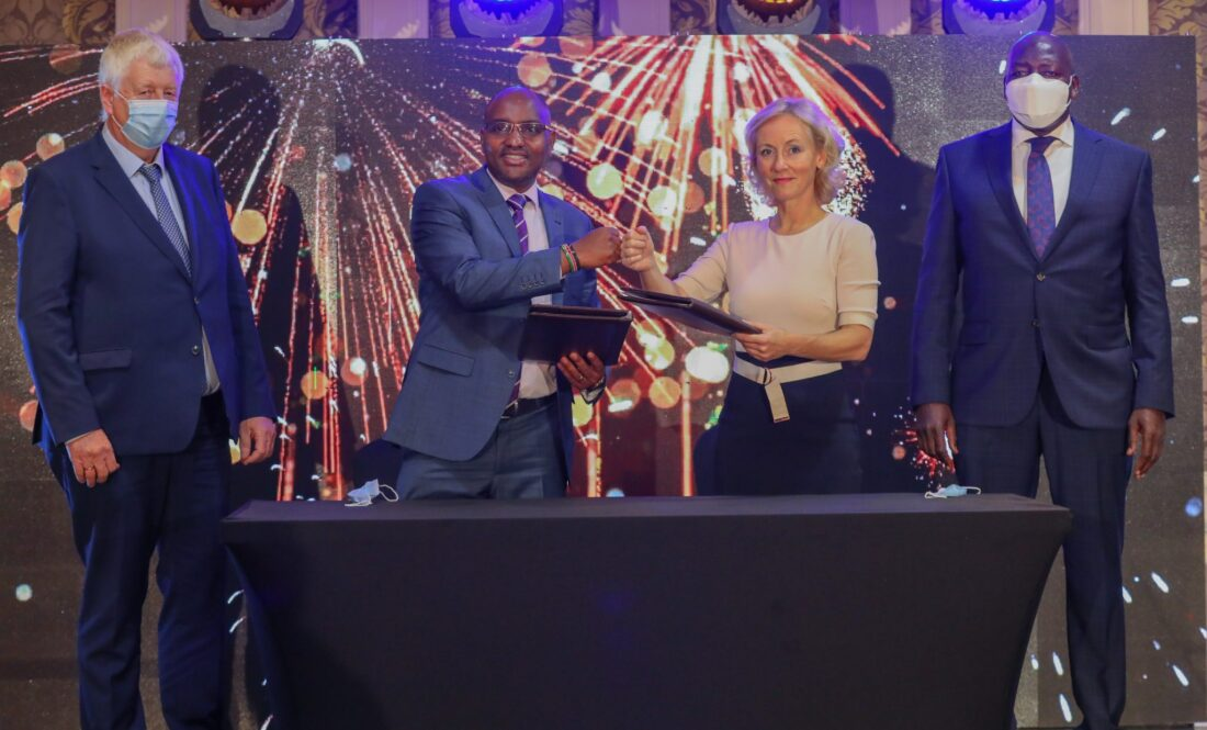 NBK signs Ksh5. billion deal with Aqua for All for MSMEs financing