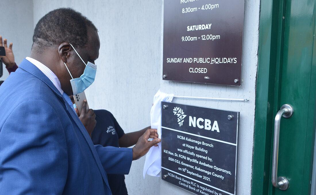 NCBA Bank opens branch in Kakamega