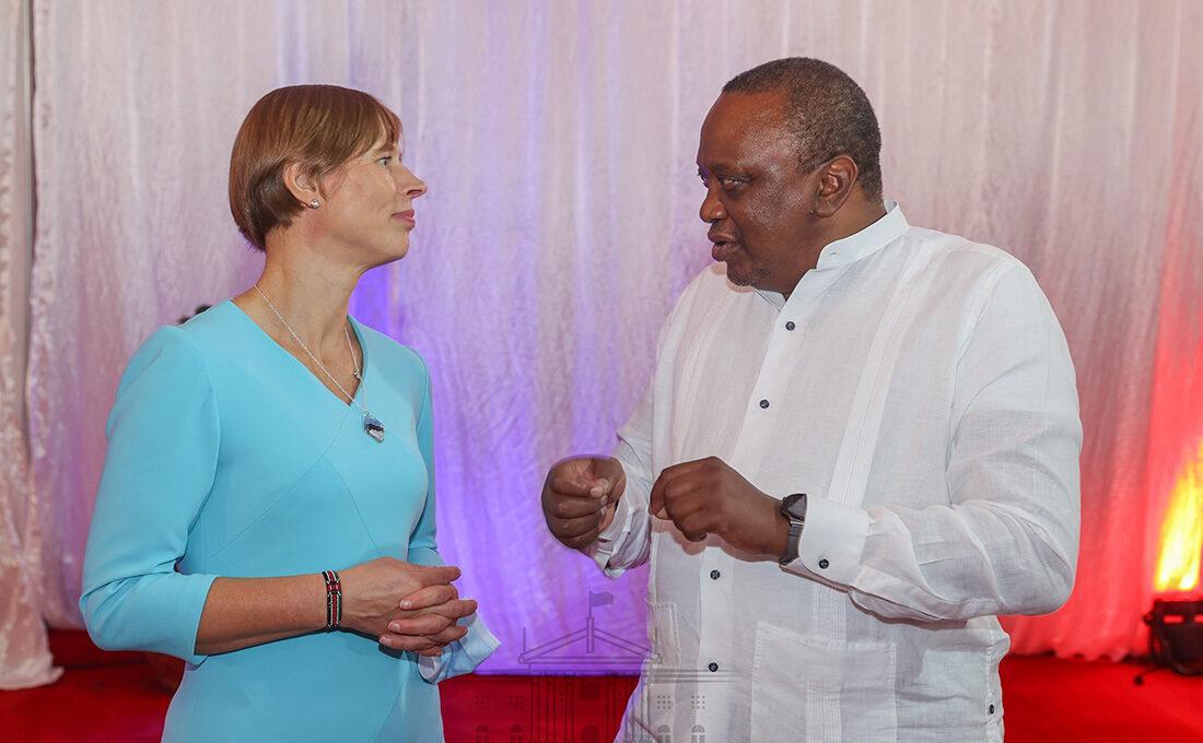 Estonia President Kaljulaid meets Uhuru to defend multilateralism on global stage