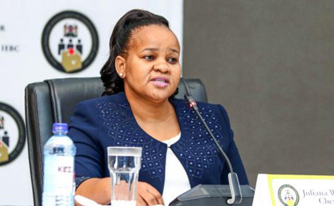 IEBC picks Juliana Cherera as Vice Chairperson