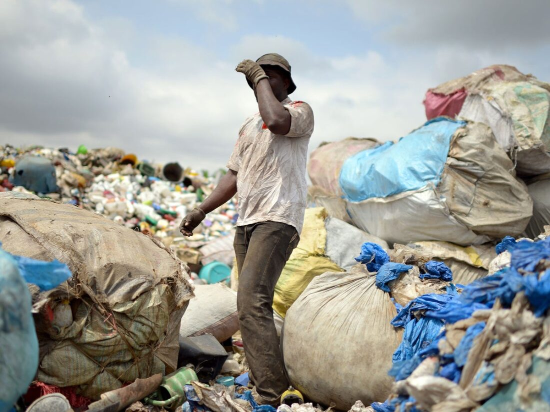 Tanzania's environment watchdog destroys 7.5 tons of banned plastic bags