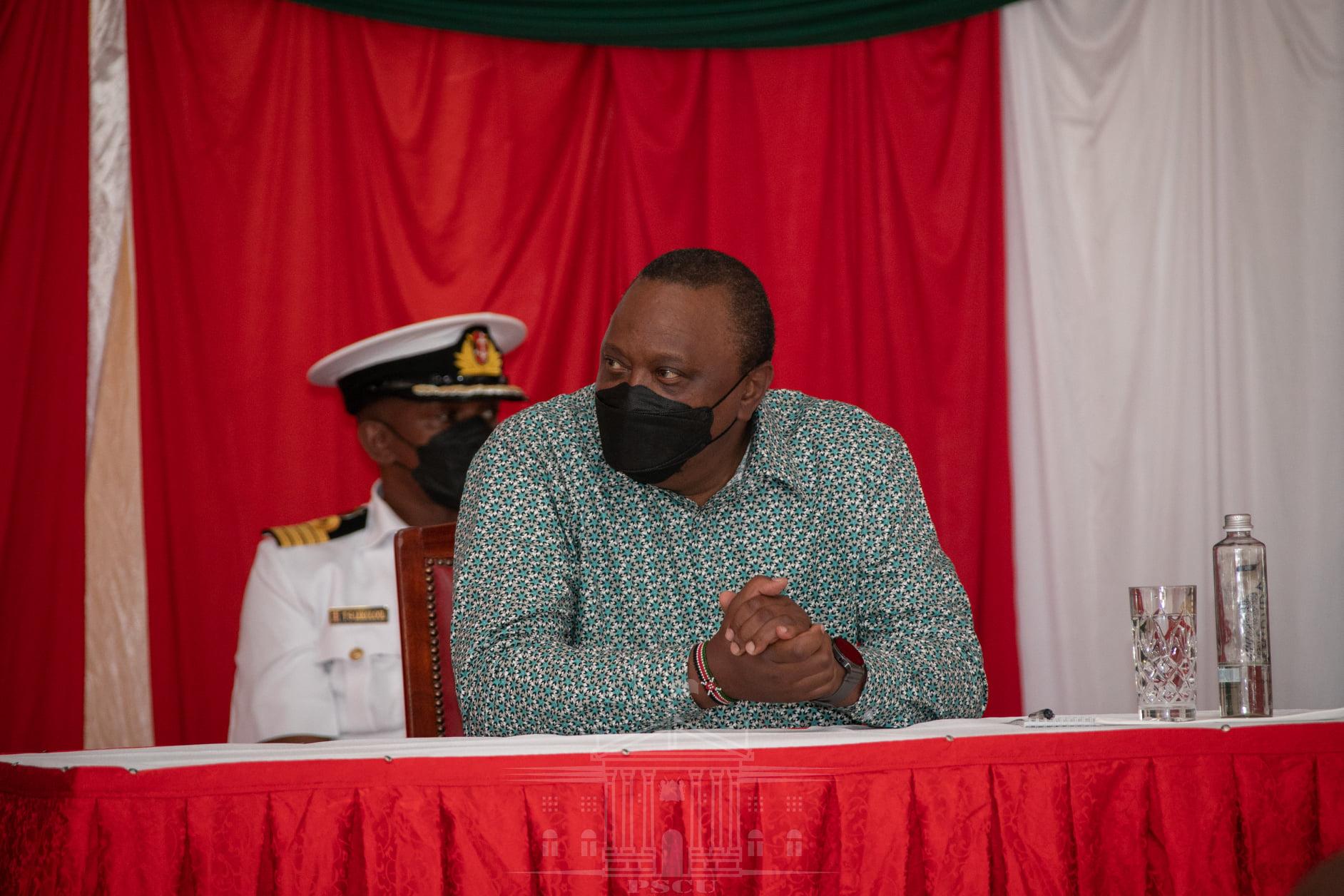 President Kenyatta hints at lifting COVID-19 curfew soon