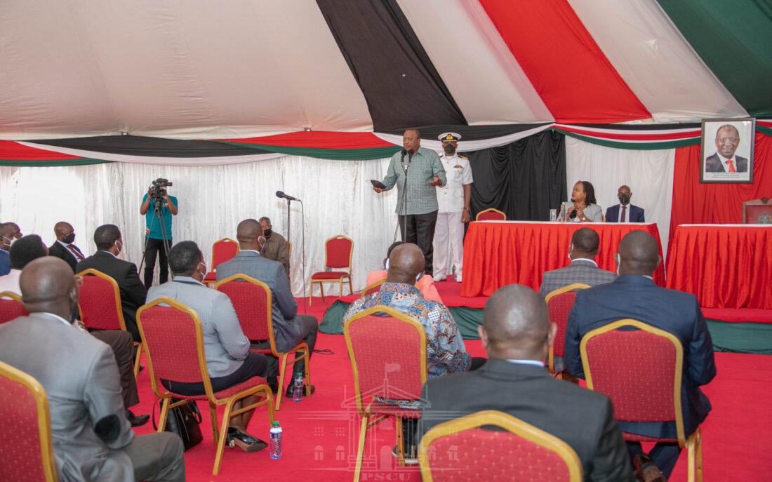 President Kenyatta promises improved tea bonuses for Mt. Kenya tea farmers