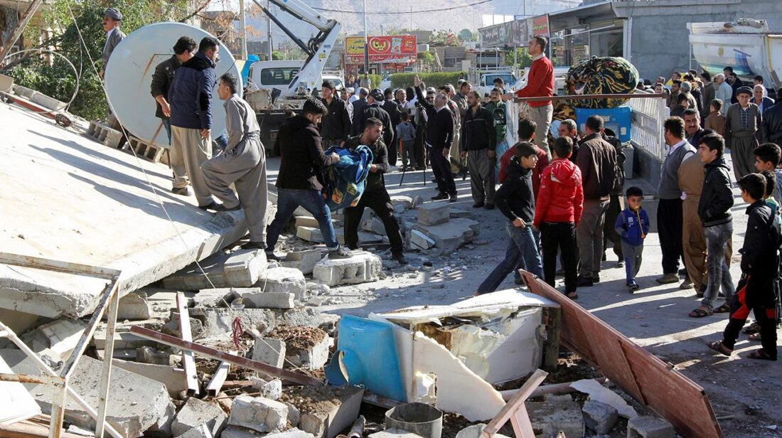 A magnitude-5.1 earthquake hit the Yazdanshahr region in Iran's southeastern Kerman province at 3:16 local time (1146 GMT) on Saturday, according to Iran's Seismological Center.