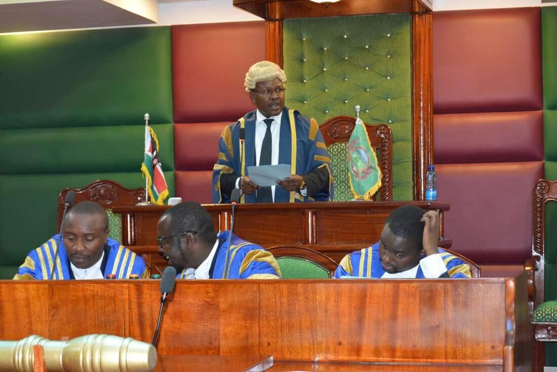 Chaos as MCAs clash at Nyandarua County Assembly