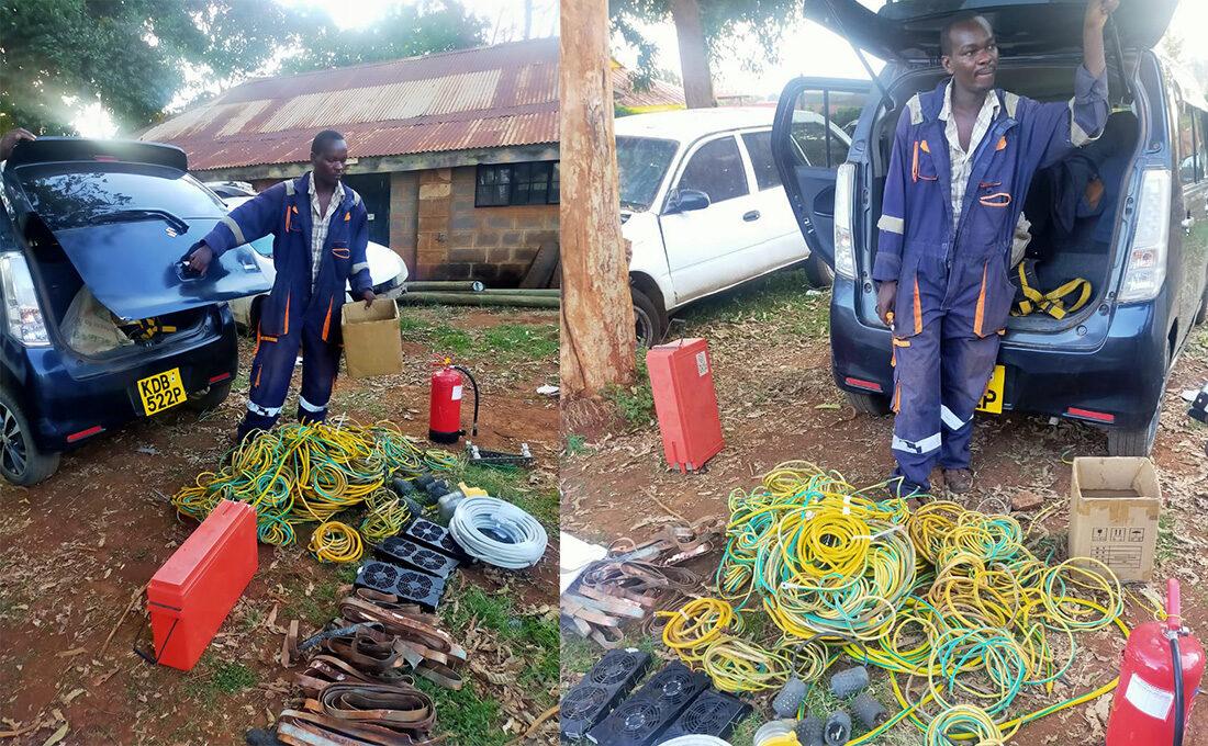 Man masquerading Safaricom Engineer arrested
