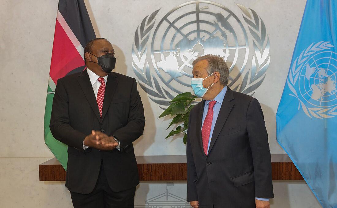 Uhuru, UN Secretary General Guterres agree on solution to end Ethiopian crisis