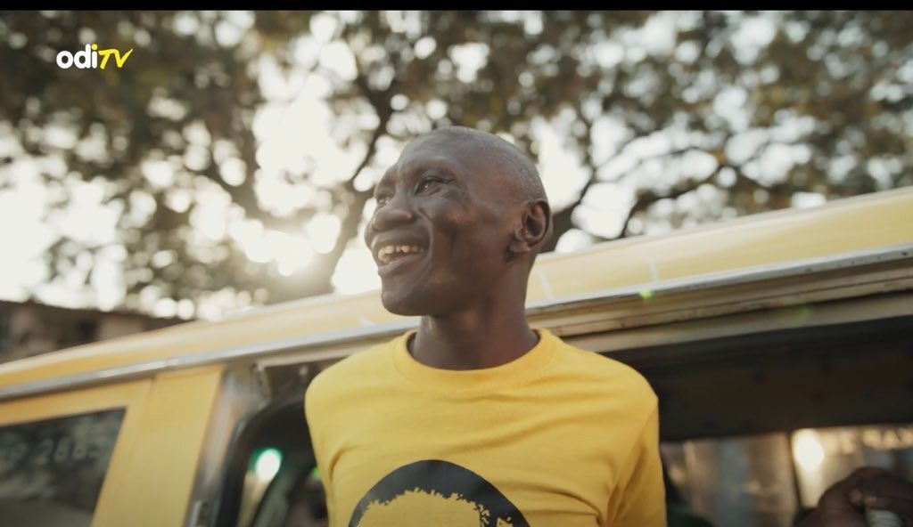 Simple Boy excites netizens after featuring in Odibets' latest advert